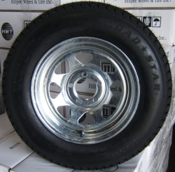 "13"" GALVANIZED SPOKE Wheel BIAS Assemblies"