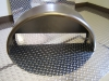 11x32 Trailer Fender with Backplate welded in