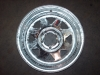 "12"" Galvanized Steel Spoke Rim 12x4 5Hx4.5"" BP"
