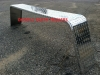 10x72 Trailer Fender .100 TreadPlate Aluminum Single Break